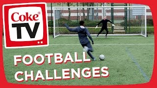 Football Challenges w/ Manny & REEV | #CokeTVMoment