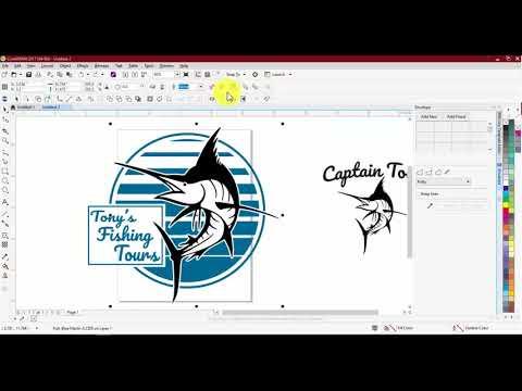 Design Ideas W/ The Fishing Live Template Mini Pack Vol. 1