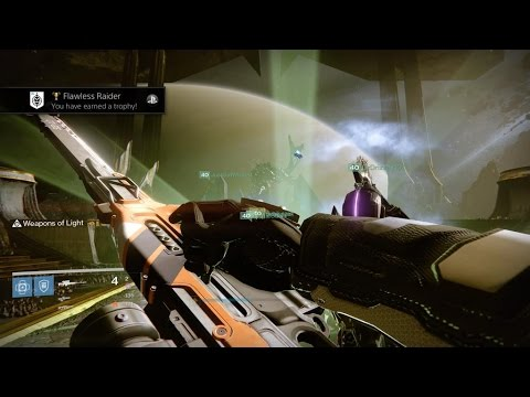 Watch these Destiny players beat the new raid without dying once