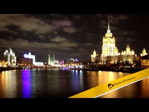 Moscow Night Time Lapse