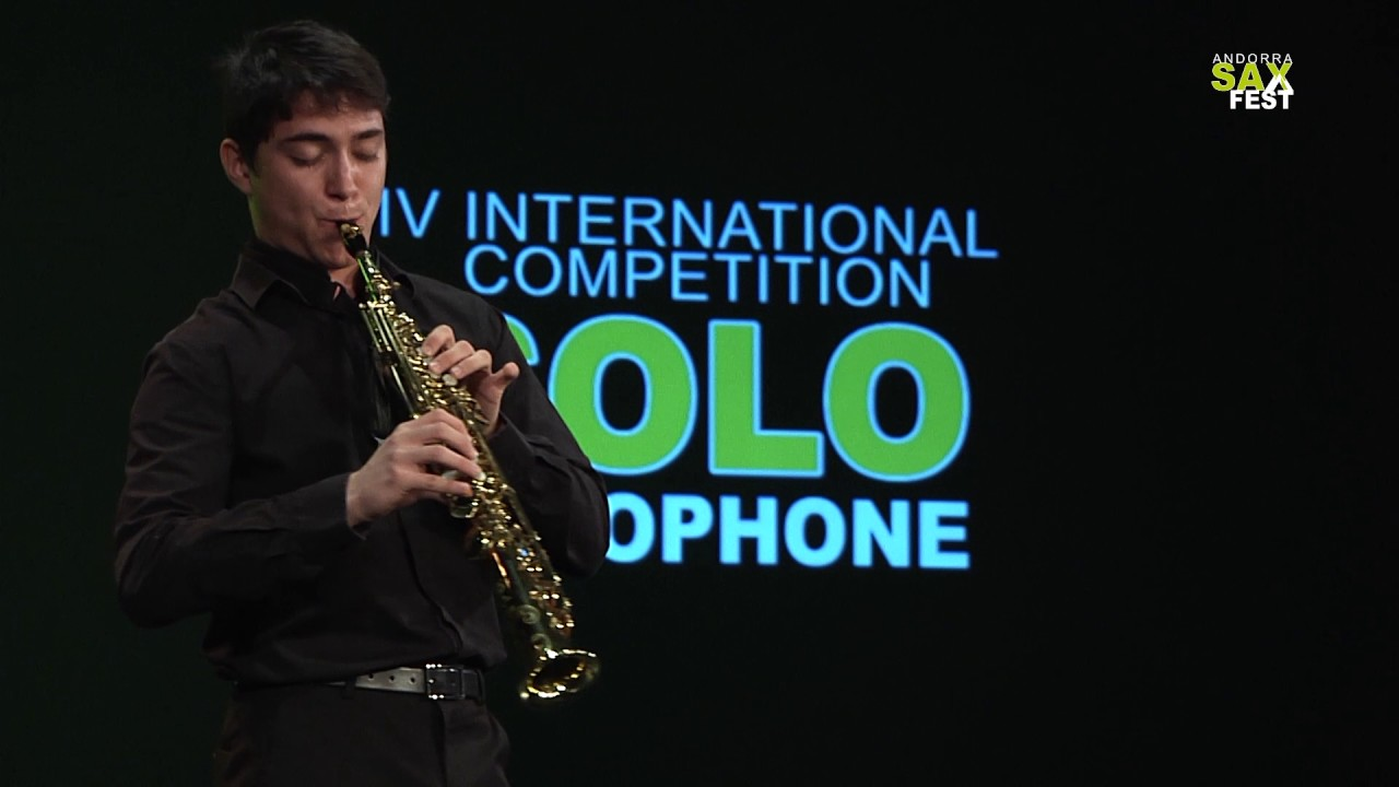 AURÉLIEN MÉRIAL - FIRST ROUND - IV ANDORRA INTERNATIONAL SAXOPHONE COMPETITION 2017