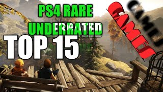 Top 15 PS4 rare, Underrated Games