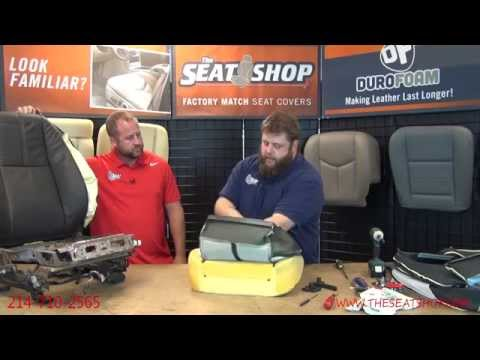 2007 - 2014 Chevrolet / GMC Replacement Leather Installation Video