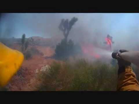 Brush Fire (Helmet Cam)