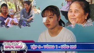 Hát mãi ước mơ 3|TẬP 5 Vòng 1:Tấm lòng cao cả của cô bé bị tai nạn container vẫn quyết hát cứu người