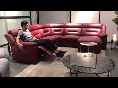 Угловой диван Форно с реклайнерами в видео обзоре от Бенцони