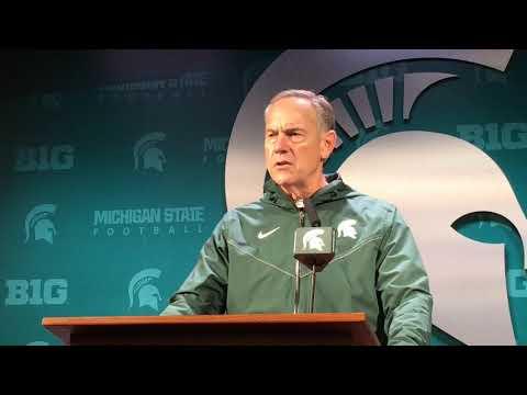 Mark Dantonio recaps Michigan State's win over Purdue