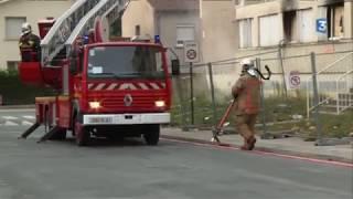 Les pompiers de Castres testent une lance à incendie révolutionnaire