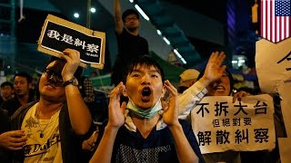 Hong Kong protests: US congress holds hearings to get more involved in pro-democracy movement