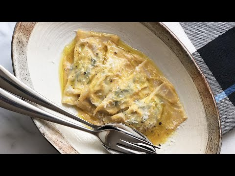 Dinner For 2: Spinach & Ricotta Ravioli By Chef Ronnie Woo
