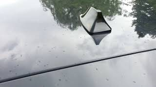 Gambar cover Shark Fin Antenna radio car install