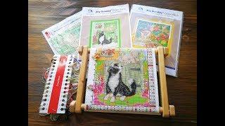 Как вышивать на канве с рисунком в китайских наборах Joy Sunday с Aliexpress