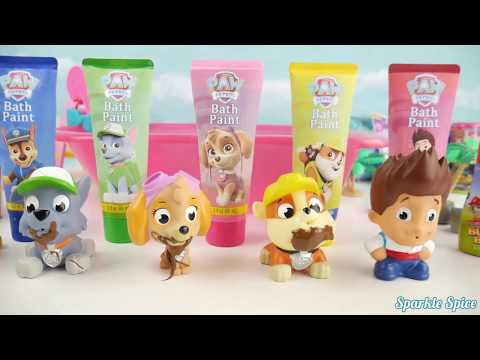 Thumbnail: Learn Colors Play Doh Pop Ups Candy Surprise Toys PEZ Eggs Body Paint Finger Family Nursery Rhymes