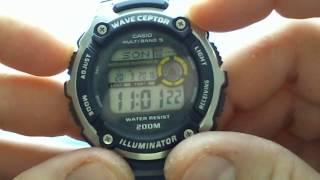 Funkuhr von Casio WV-200E Cheap Radio Controlled Watch
