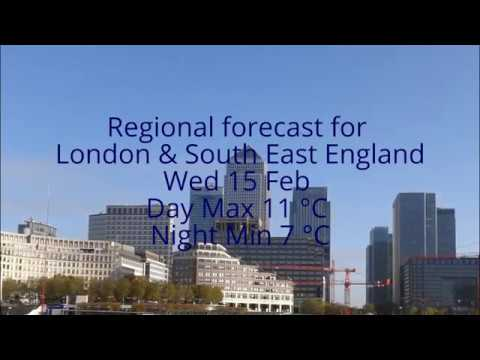 London & SE Weather for the week ahead