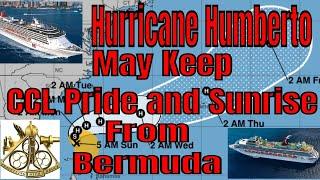 Hurricane Humberto May Keep Carnival Pride And Carnival Sunrise Away From Bermuda