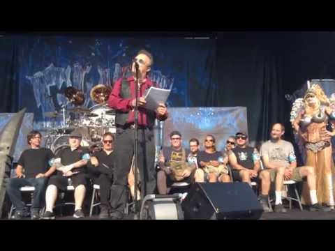 Jello Biafra's eulogy for Dave Brockie / Oderus Urungus