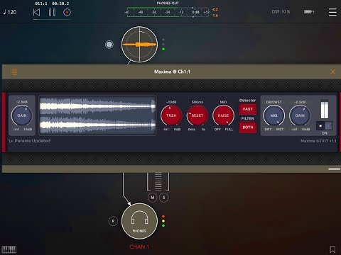 MAXIMA - AUv3 Maximizer by Fred Anton Corvest - Demo for the iPad