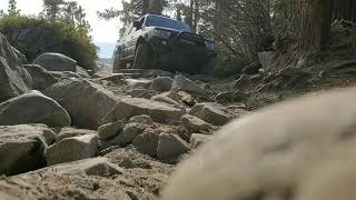 4runner and jeeps Rubicon trail
