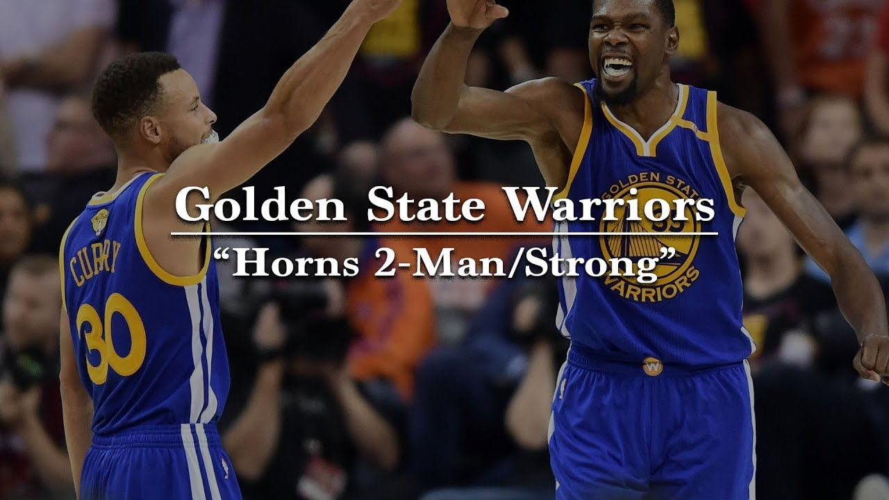 new styles 36bbf 33368 Golden State Warriors Horns 2-Man/Stagger – The Basketball ...