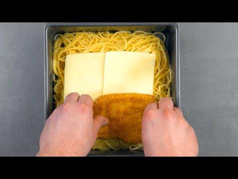 mettez-4-escalopes-entre-4-tranches-de-fromage-et-voyez-ce-qui-se-passe-après-25-minutes.-miam-!