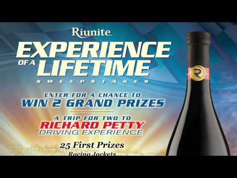2011 Riunite Experience Of A Lifetime Sweepstakes