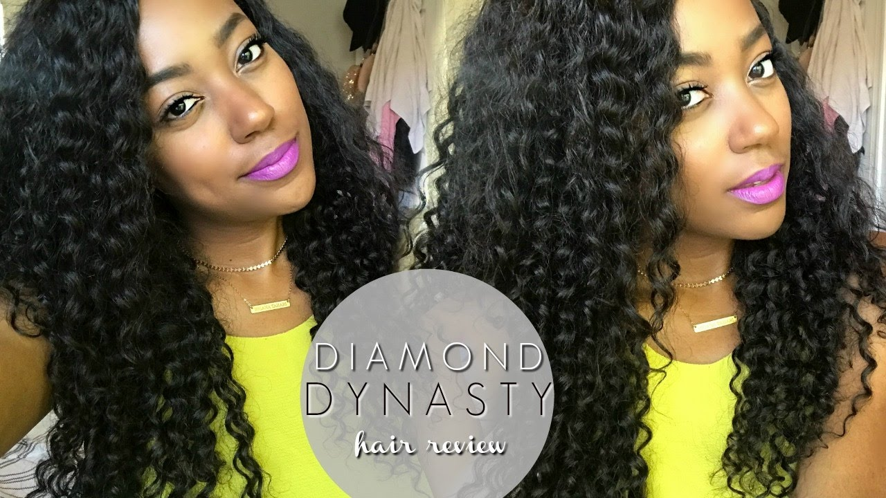 My Favorite Curly Hair Ever Diamond Dynasty Hair Review Youtube