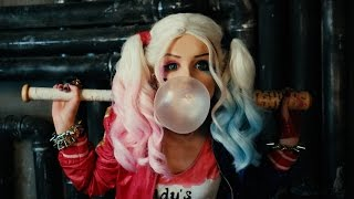 Harley Quinn♡Suicide Squad 2016 (make up tutorial) DC Comics