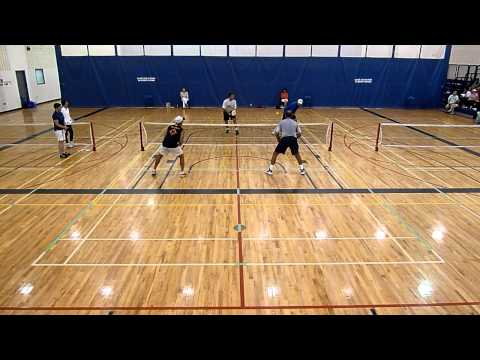 Valenti Sports Pickleball MENS OPEN DOUBLES FINAL CANADIAN NATIONAL Championship 2015 2 0f 2