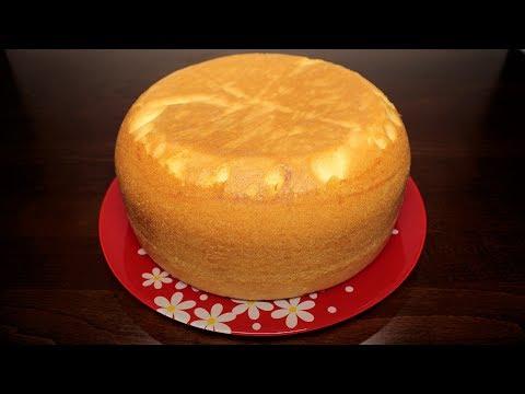Бисквит в мультиварке рецепт с фото пошагово в домашних условиях