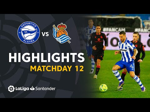 Alaves Real Sociedad Goals And Highlights