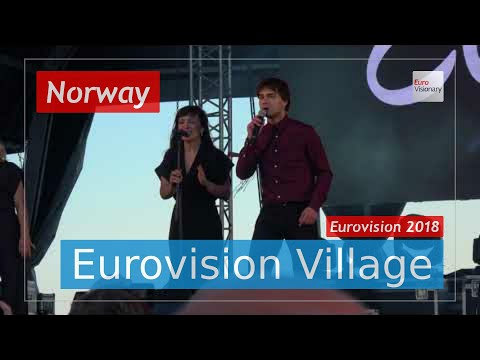 Alexander Rybak (Norway) - That † s How You Write A Song (LIVE @ Eurovision Village) Eurovision 2018