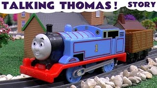 Thomas and Friends Trackmaster Talking Thomas Toy Train Story | Juguetes de Thomas | Toy Unboxing