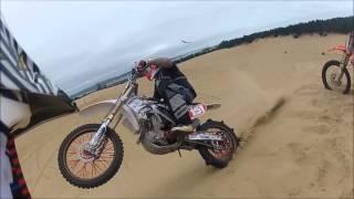 TnA Moto Films- Part 2 Riding Dirt Bikes Horsefalls Oregon Dunes 9-8-12 Jumps Crashes