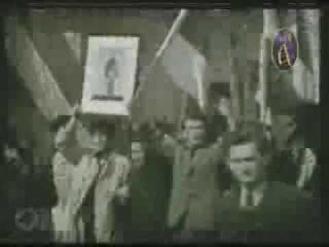 Demonstracije 27. marta 1941. narod kliče NJ.V. Kralju Petru II