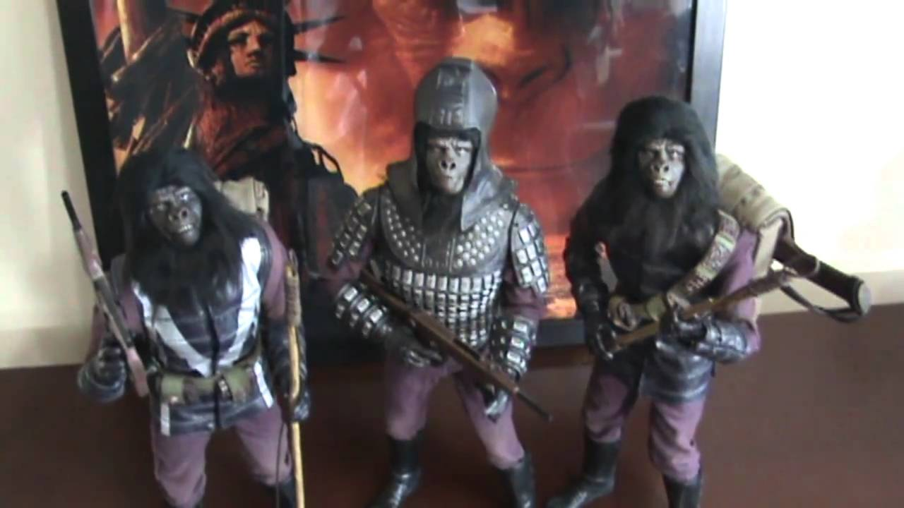 Relative newcomer, Hot toys apes activity