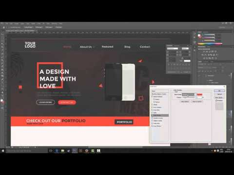 Web Design Speed Art – Made with Love