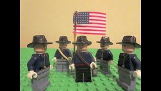 Lego American Civil War Battle