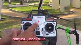 MJX F-45 Rc HELICOPTER ,UNBOXING,REVIEW,TEST,(EN ESPAÑOL)