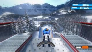 Gra Winter Sports 2009 - skoki narciarskie - duża skocznia