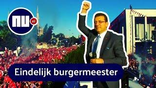 Istanboel kiest burgemeester, mensen vieren feest | NU.nl