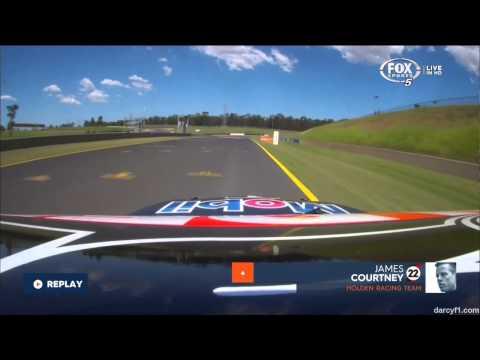 Onboard Lap around Sydney Motorsport Park (feat. James Courtney) - #V8SC 2015