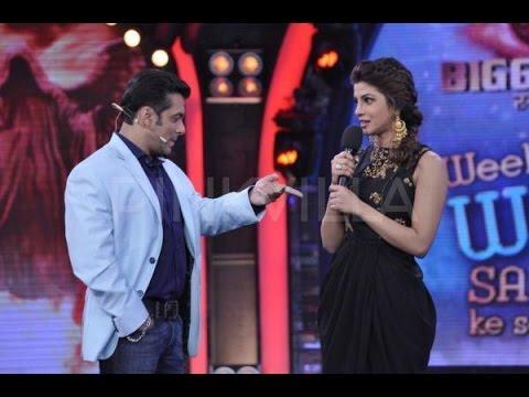 Salman Khan Funny Flirting With priyanka chopra In Award Show 2017
