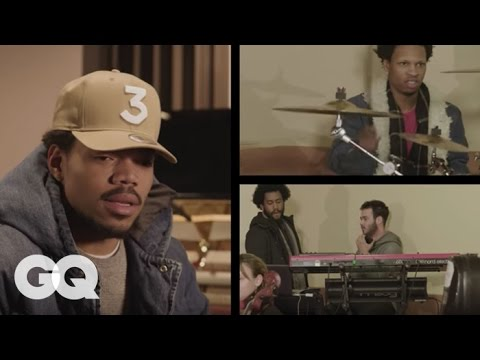 Inside the Studio with Chance the Rapper | GQ
