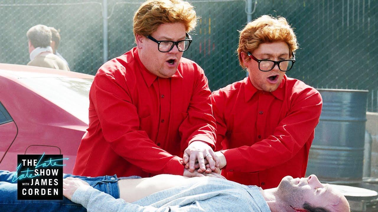 Download Niall Horan & James Corden Would Walk 500 Miles