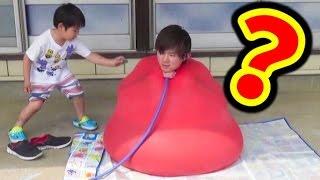 風船プール入ってみた さとちんwaterballoonbombchallenge