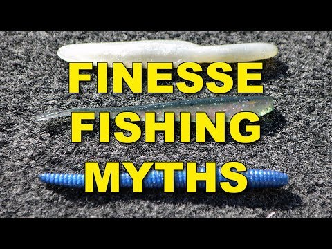 4 Myths About Finesse Fishing | Bass Fishing
