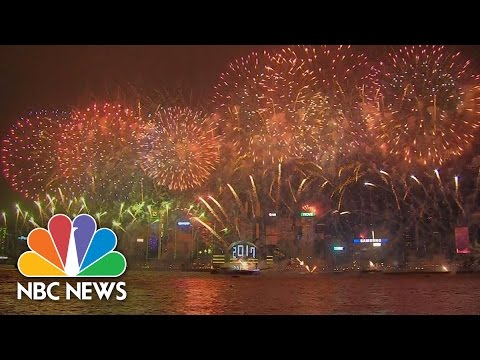 New Year Celebrations Around the World in 2 Minutes | NBC News