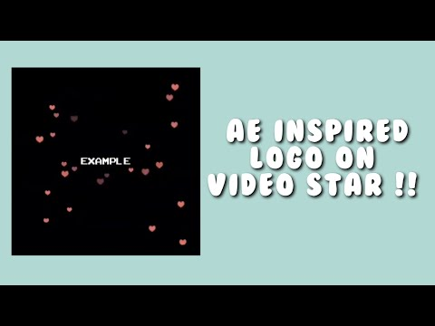 AE INSPIRED LOGO | VIDEO STAR