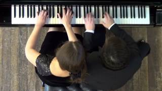 Hungarian Dances No 5, J Brahms - Passepartout Piano Duo